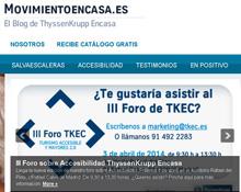 ThyssenKrupp Encasa pone en marcha su blog Movientoencasa.es