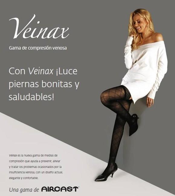 Veinax, Luce piernas bonitas y saludables