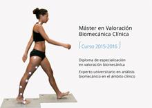 Máster en Valoración Biomecánica Clínica