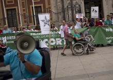 El 5 de Octubre, Huelga y Manifestación de la Ortopedia Estatal y Catalana en Madrid