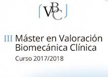 III Máster en Valoración Biomecánica Clínica