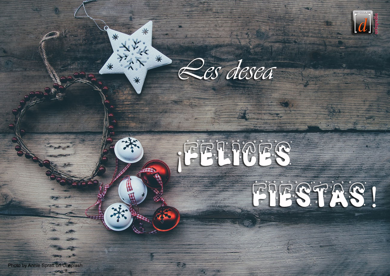 Feliz Navidad y un prospero Año 2020!