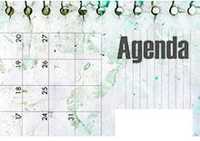 Agenda de eventos 3er trimestre 2016