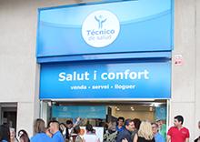 Inaugurada la Primera tienda Técnico de Salud en Mataró