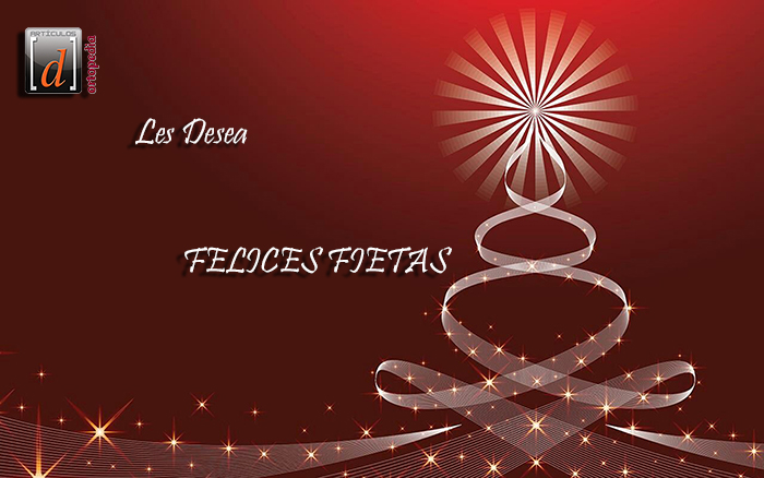 Feliz Navidad y un prospero Año Nuevo