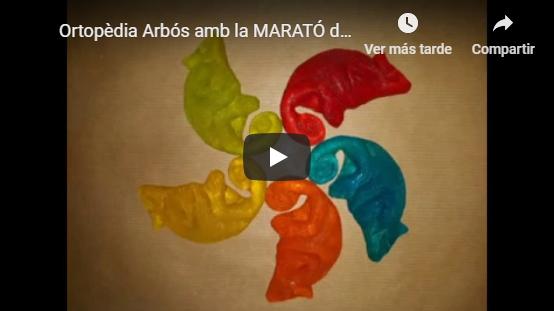 Ortopèdia Arbós amb la MARATÓ de TV3